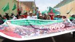 Marcha por Gregorio Santos: manifestantes llegaron a Trujillo - Noticias de porfirio vasquez