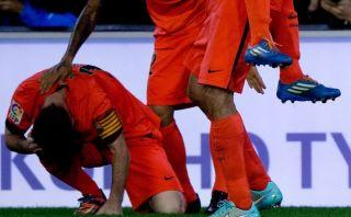 Valencia expulsará a hincha que lanzó botella a Lionel Messi