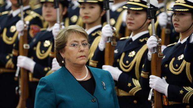 Michelle Bachelet asumió la Presidencia de Chile en marzo de este año. (Foto: Reuters).