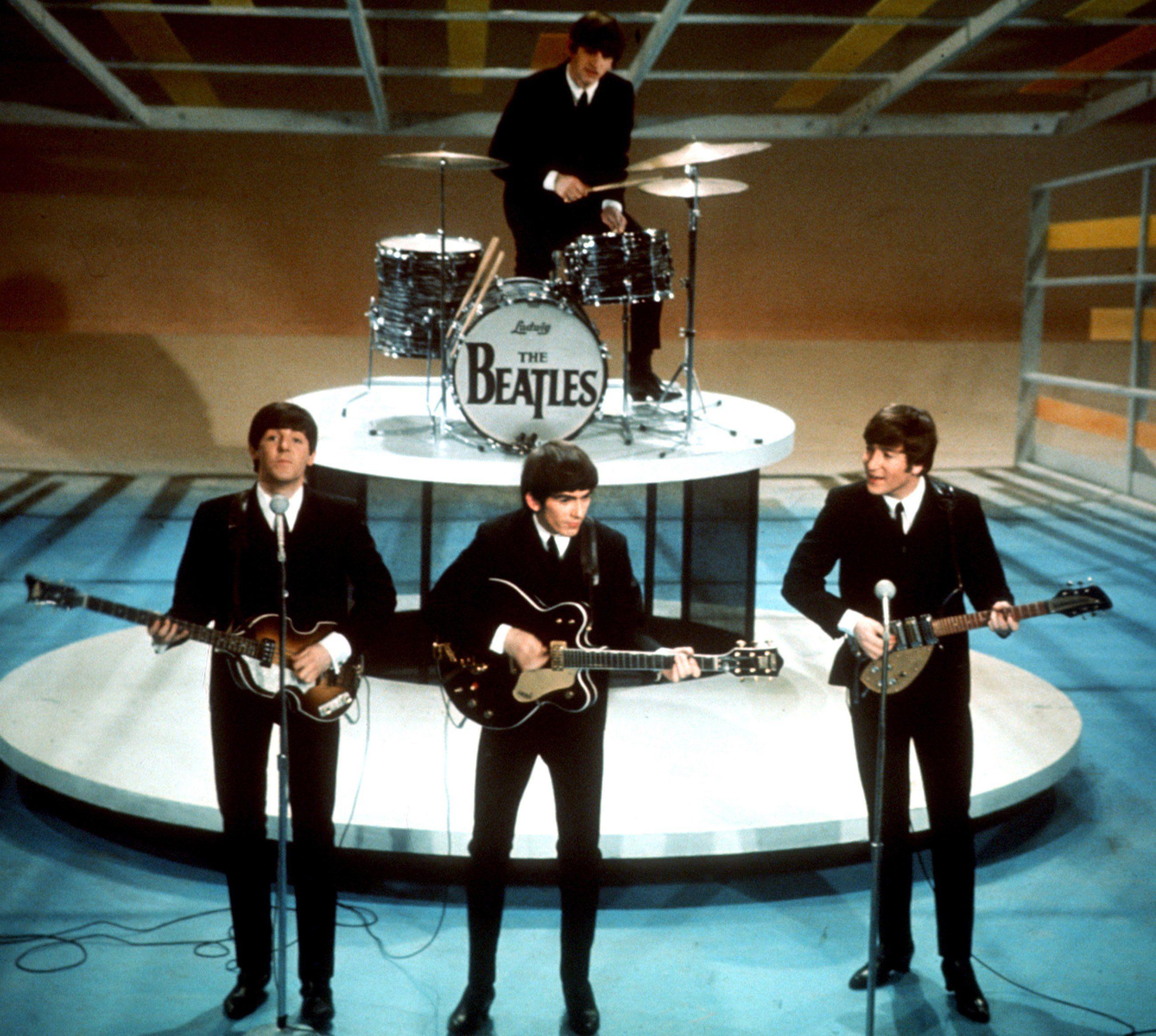 The Beatles, en 1964. (Foto: AP / archivo)