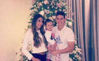 Instagram: James Rodríguez y lo que es la Navidad para él