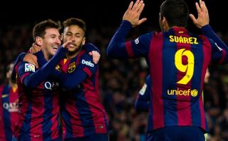 Barcelona goleó 5-1 al Espanyol con 'hat-trick' de Lionel Messi