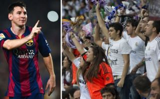 Real Madrid expulsó a 17 fans que insultaron a Messi en partido