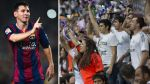 Real Madrid expulsó a 17 fans que insultaron a Messi en partido - Noticias de el club de los desahuciados
