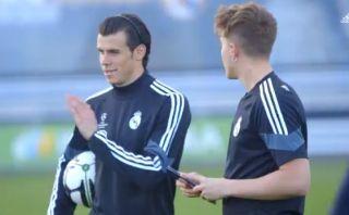 YouTube: Gareth Bale enseña cómo ejecutar tiros libres
