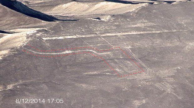 """Greenpeace """"abofetea"""" a Perú dañando gravemente las lineas de Nazca. 1019591"""
