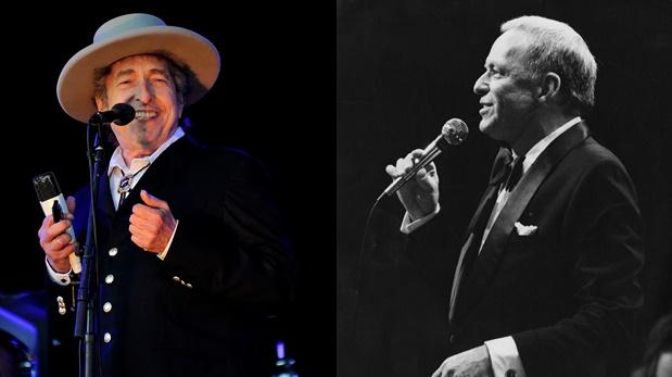 Bob Dylan versionará temas popularizados por Frank Sinatra