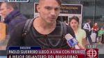 """Paolo Guerrero: """"Estoy tranquilo en Corinthians"""" - Noticias de paolo guerrero"""