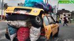 Vía WhatsApp: choferes transportan excesiva y peligrosa carga - Noticias de pilotos