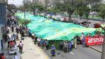 Cientos de activistas marcharon en defensa del agua - Noticias de las vegas