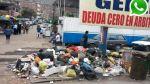 Vía WhatsApp: basura satura calles cerca a hospitales en Comas - Noticias de hospital de la solidaridad
