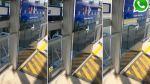 [VIDEO] Puerta del Metropolitano amenaza caer sobre pasajeros - Noticias de estacion ricardo palma