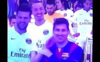 Lionel Messi y la broma que hizo reír a Zlatan y Motta