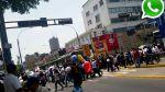 WhatsApp: marcha contra COP20 congestiona centro de Lima - Noticias de tráfico vehicular