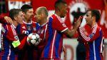 Bayern Múnich goleó 3-0 en última fecha de Champions League - Noticias de franck ribéry