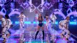 YouTube: Ariana Grande cantó en un arcoiris a Victoria's Secret - Noticias de victoria's secret