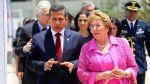Humala y Bachelet buscan mecanismos para fortalecer relación - Noticias de corte de la haya
