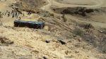 Bus cayó a abismo en vía Talara - Tumbes dejando 5 muertos - Noticias de accidentes en carreteras