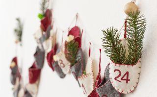 Decora tu casa en esta Navidad armando tus propias guirnaldas