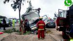 Panamericana Sur: Al menos dos heridos dejó despiste de camión - Noticias de accidentes de tránsito