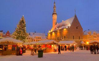Navidad: Estonia tiene el primer árbol navideño del mundo