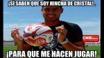 Sporting Cristal vs. Juan Aurich: memes tras empate en Chiclayo - Noticias de jimmy quispe pacheco