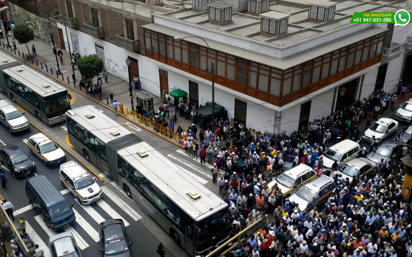 (Foto: WhatsApp/El Comercio)