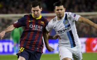 Facebook: Messi bromeó con 'Kun' Agüero por duelo de Champions