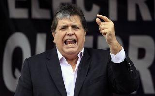 Alan García criticó al Gobierno por régimen laboral juvenil