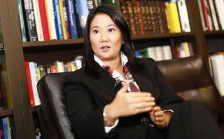 """Keiko Fujimori a Nadine: """"Espero que vaya a comisión Belaunde"""""""
