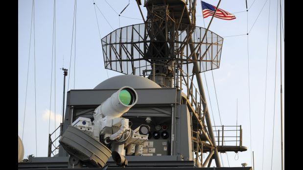 Cómo funciona el rayo láser, el arma más moderna de EE.UU.