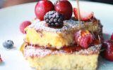 Desayuno navideño: Tostadas francesas rápidas y sencillas