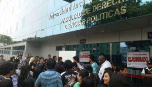 San Isidro: facultad de universidad Garcilaso fue clausurada