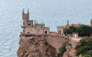 Nest Castle, este castillo está construido sobre un acantilado