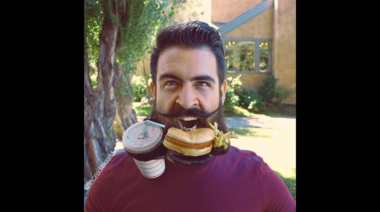 Instagram hombre y su barba se hicieron estrellas en Internet