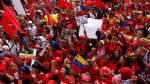 """Venezuela: chavistas marchan contra el """"imperialismo"""" de EE.UU. - Noticias de elias jaua"""
