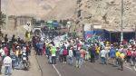 Paro contra tía María: bloquearon la Panamericana Sur - Noticias de paro minero en arequipa