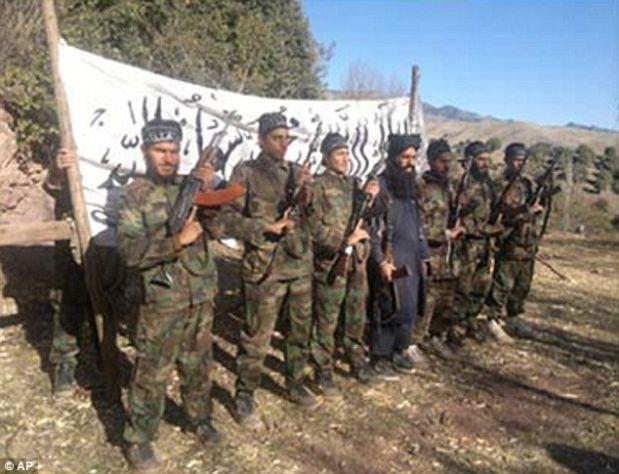 El comando talibán que asaltó la escuela de Peshawar. (AP).