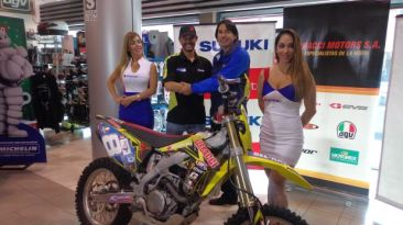 Tato Heinrich estará en el Dakar 2015