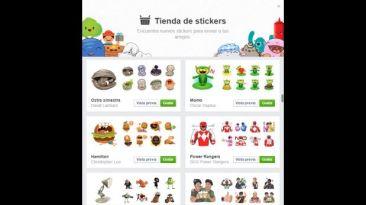 Facebook habilitó herramienta de búsqueda de 'stickers'