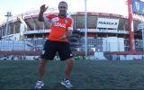 River Plate celebró sus títulos de temporada bailando 'Happy'