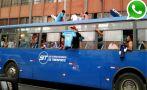 Hinchas de Sporting Cristal causan desmanes en centro de Lima