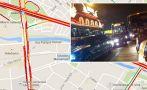 [Mapa] Mira el intenso tráfico en la avenida Alfonso Ugarte