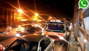 Vía WhatsApp: gran congestión vehicular se vivió en toda Lima