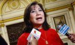 Martha Chávez renuncia a presidencia de la Comisión de Trabajo