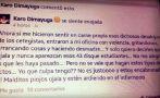 Facebook: mujer indigna México con pedido sobre Ayotzinapa