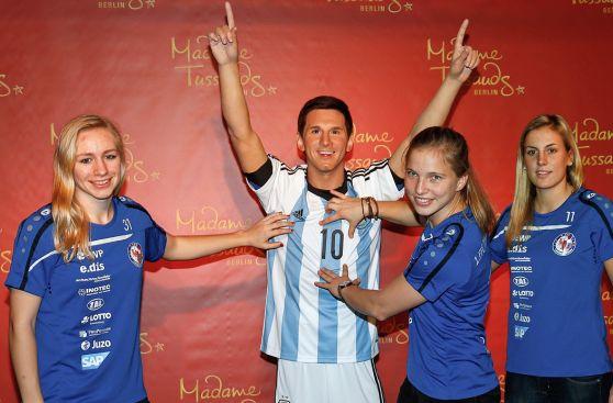 Lionel Messi: estatua de cera fue presentada en Madame Tussauds