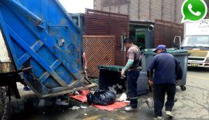 Costa Verde: denuncian mal recojo de basura frente a restaurant