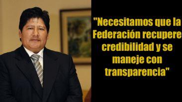 Edwin Oviedo: diez frases del nuevo presidente de la FPF