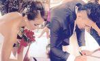 ¿Jazmín Pinedo y Gino Assereto se casaron en secreto?